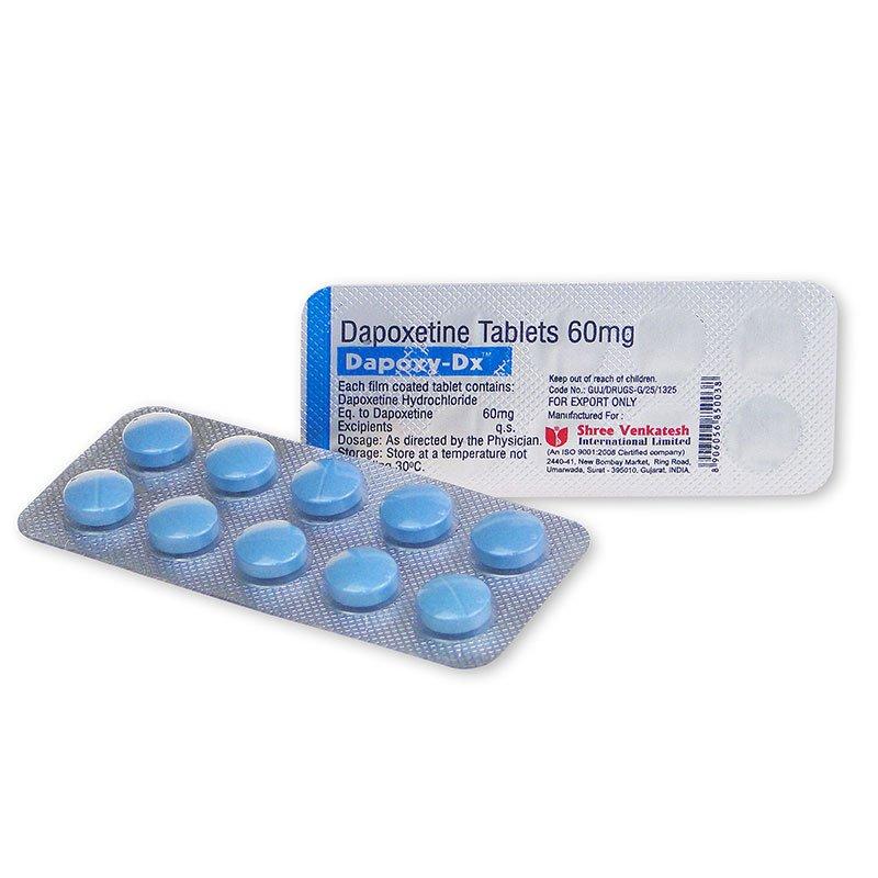 Dapoxetine – Dapoxy 60mg