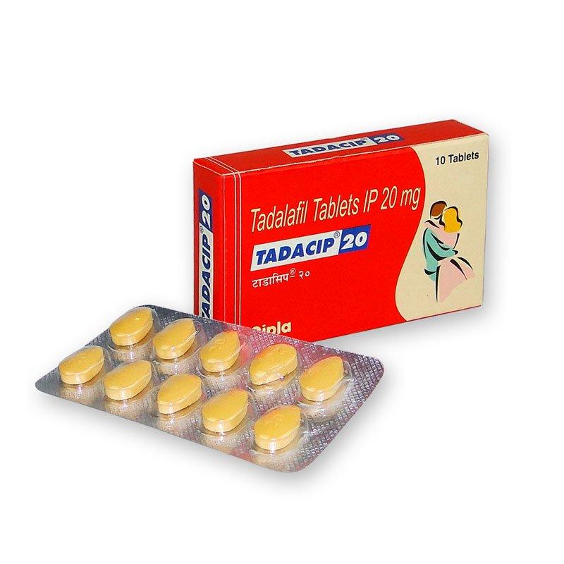 Tadacip 20 mg /10 pilules
