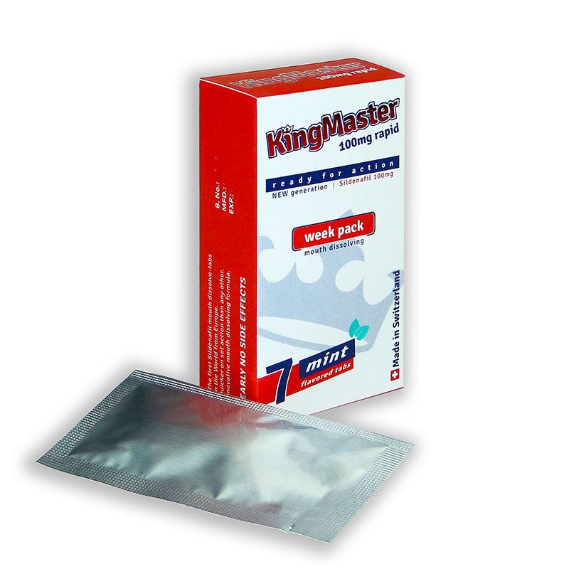 KingMaster 100mg Rapid
